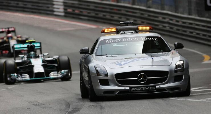 Safety Car  - Formel 1 - GP Monaco - 25. Mai 2014