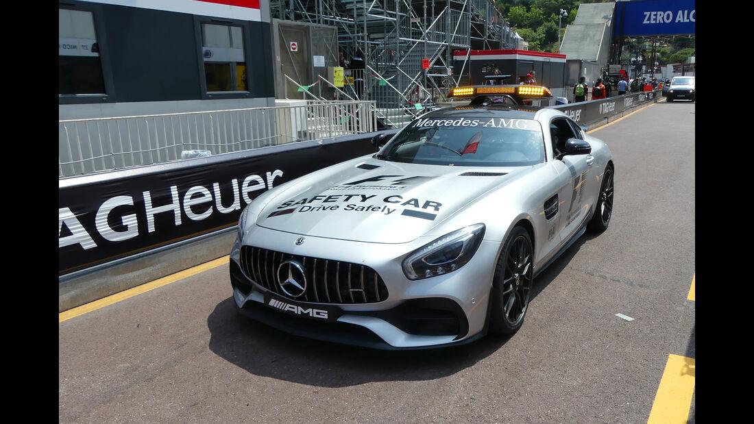 Safety-Car - Formel 1 - GP Monaco - 26. Mai 2017