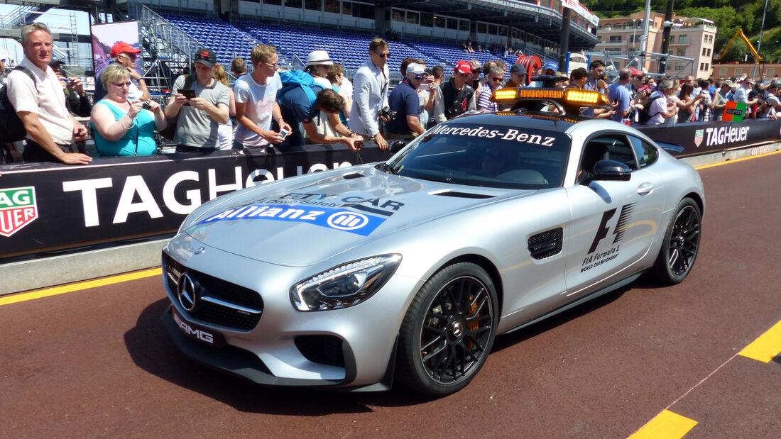Safety Car - Formel 1 - GP Monaco - Freitag - 22. Mai 2015