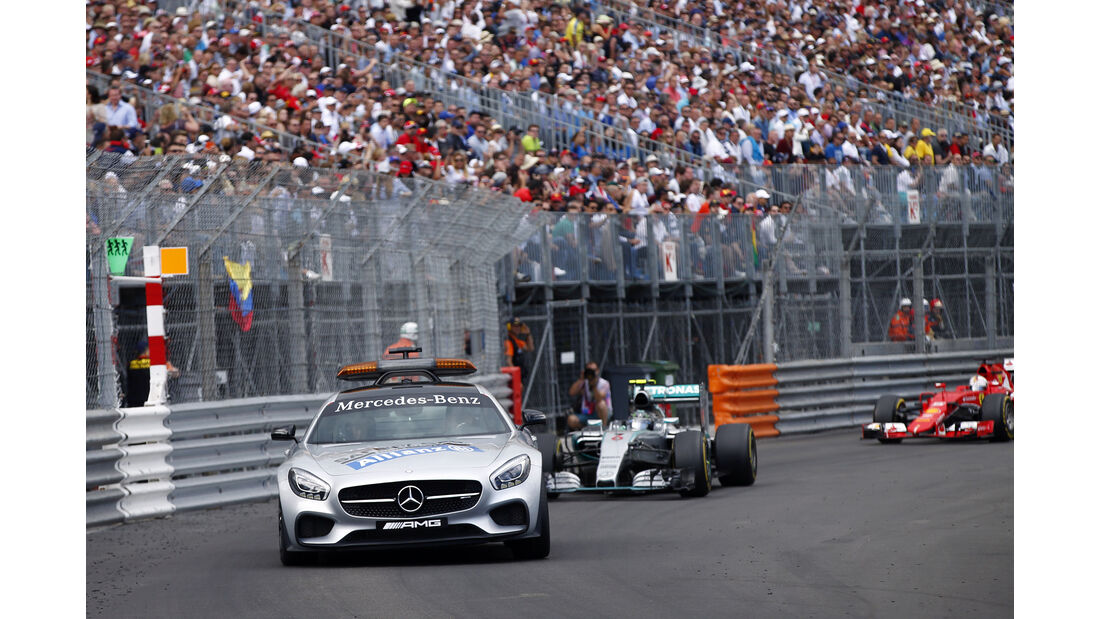 Safety Car  - Formel 1 - GP Monaco - Sonntag - 24. Mai 2015