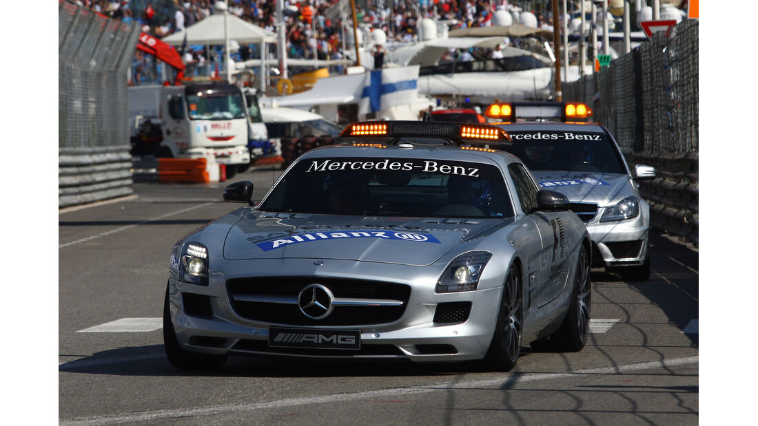 Safety Car - Formel 1 - GP Monado - 24. Mai 2012