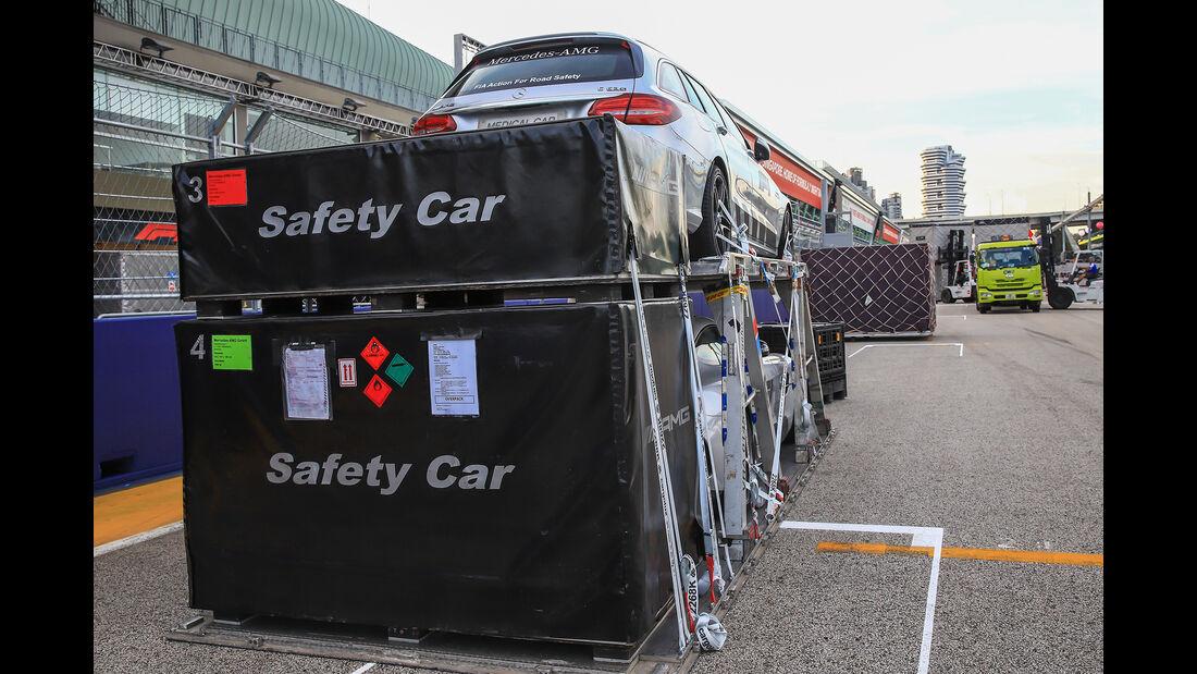 Safety-Car - Formel 1 - GP Singapur - 11. September 2018