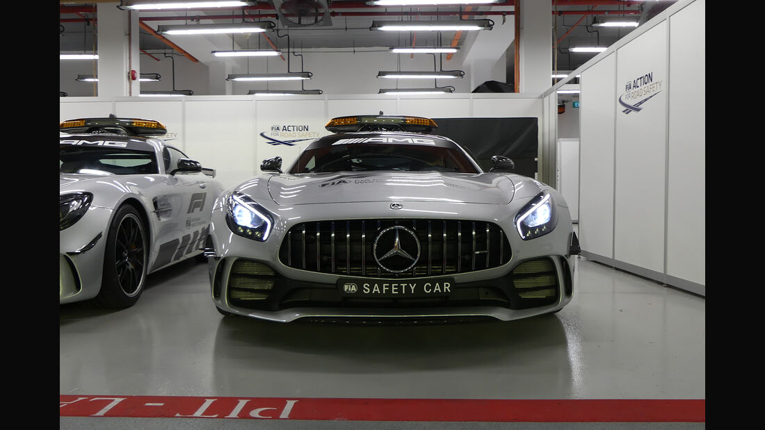 Safety-Car - Formel 1 - GP Singapur - 12. September 2018