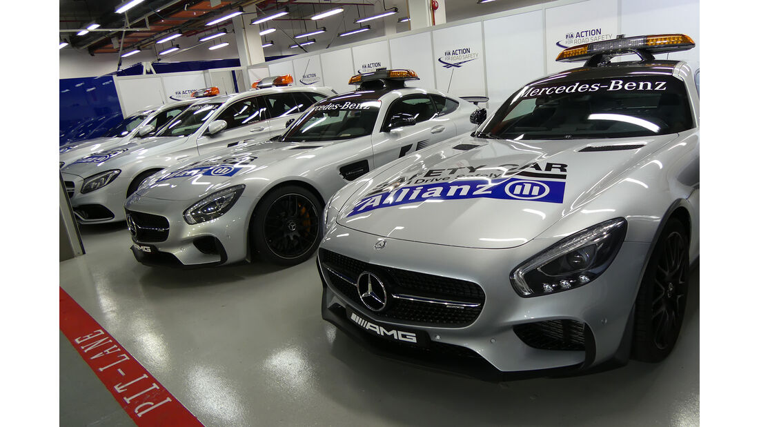 Safety-Car - Formel 1 - GP Singapur - 14. September 2016