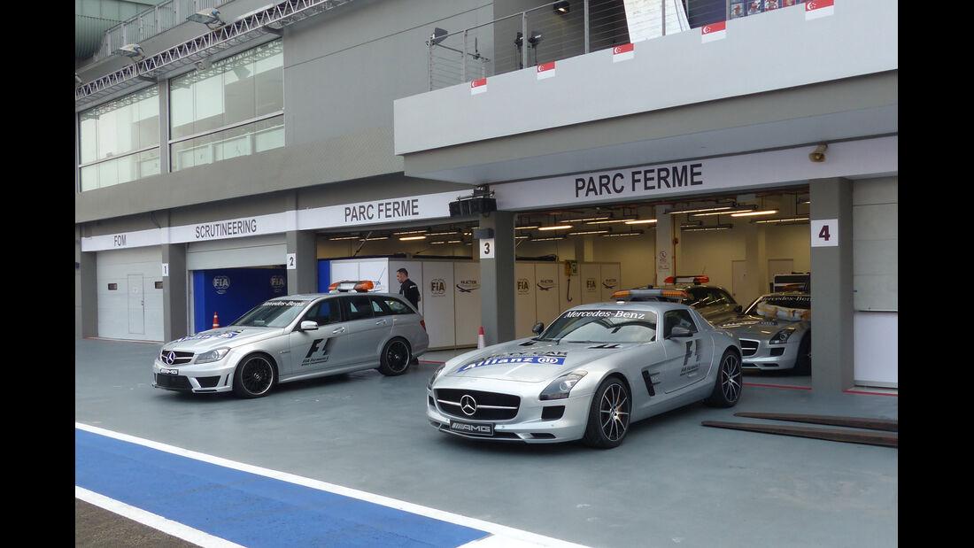 Safety-Car - Formel 1 - GP Singapur - 17. September 2014