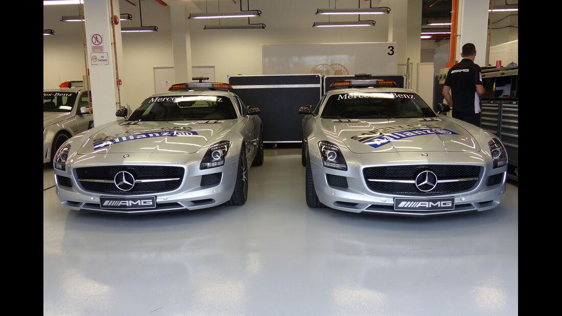 Safety-Car - Formel 1 - GP Singapur - 18. September 2014