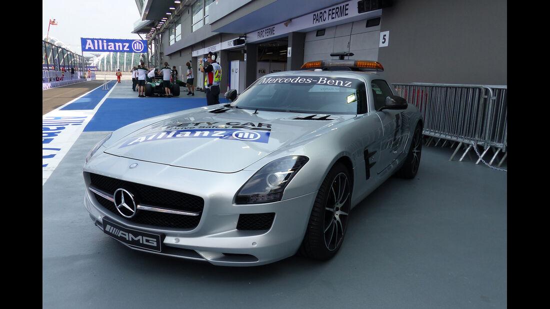 Safety-Car - Formel 1 - GP Singapur - 19. September 2014