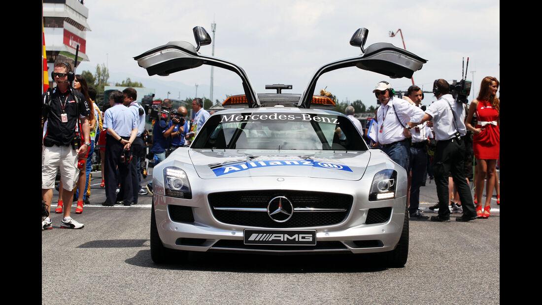 Safety-Car - Formel 1 - GP Spanien 2013