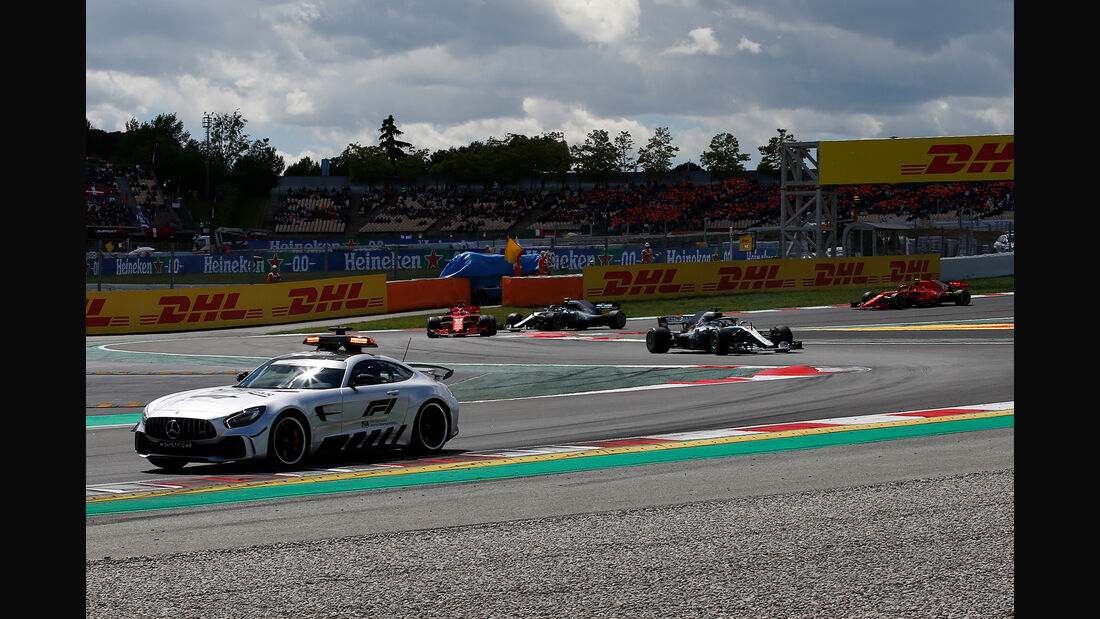 Safety-Car - Formel 1 - GP Spanien 2018