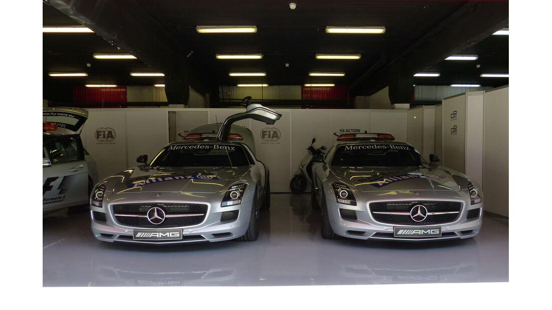 Safety-Car - Formel 1 - GP Spanien - Barcelona - 8. Mai 2014