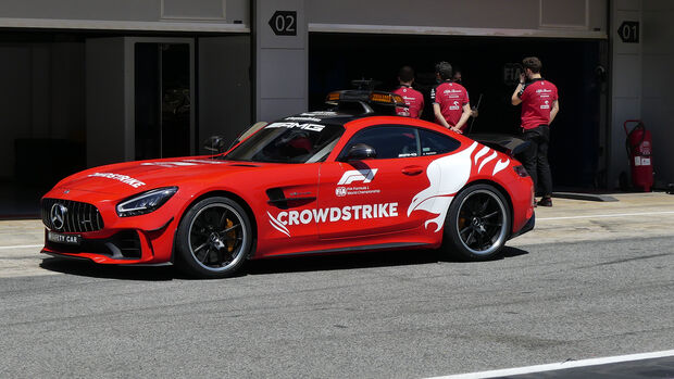 Safety Car - Formel 1 - GP Spanien - Donnerstag - 6.5.2021
