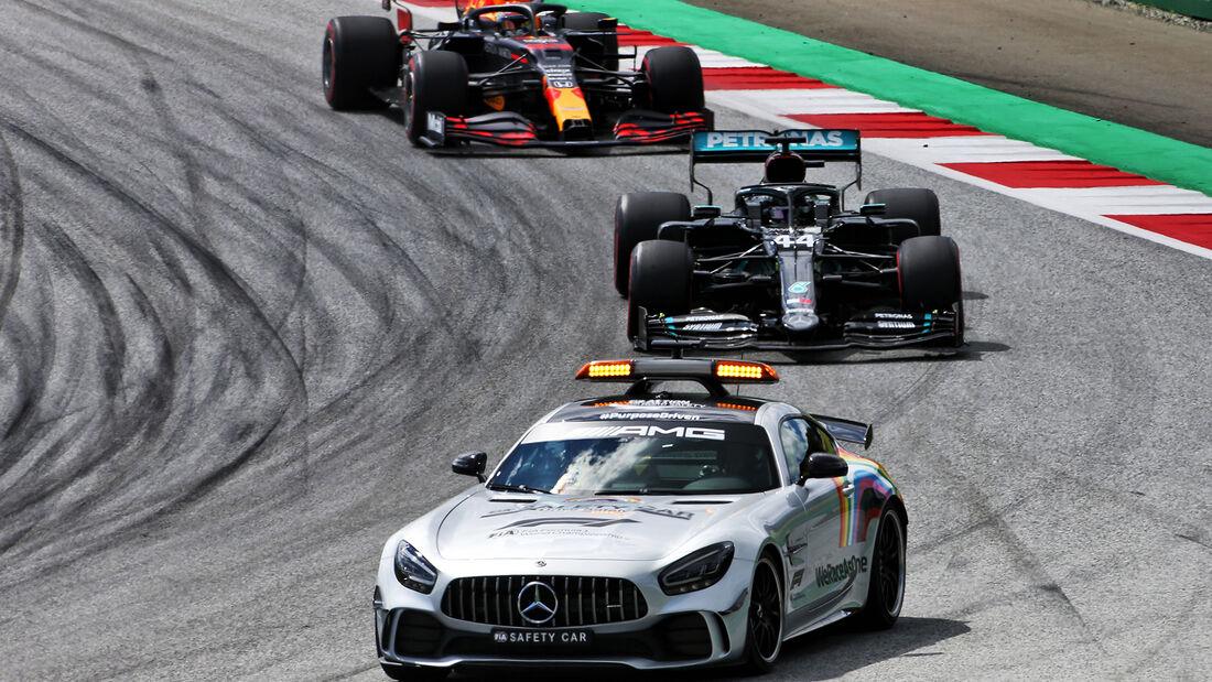 Safety Car - Formel 1 - GP Steiermark 2020 - Spielberg - Rennen