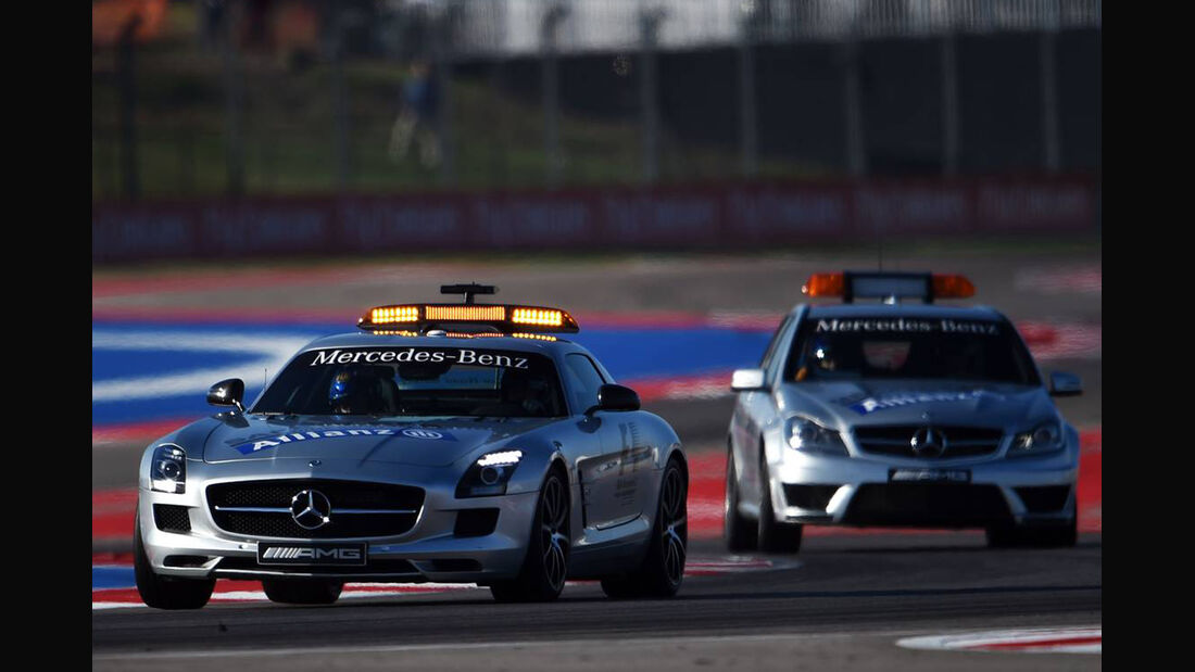 Safety Car - Formel 1 - GP USA - 1. November 2014
