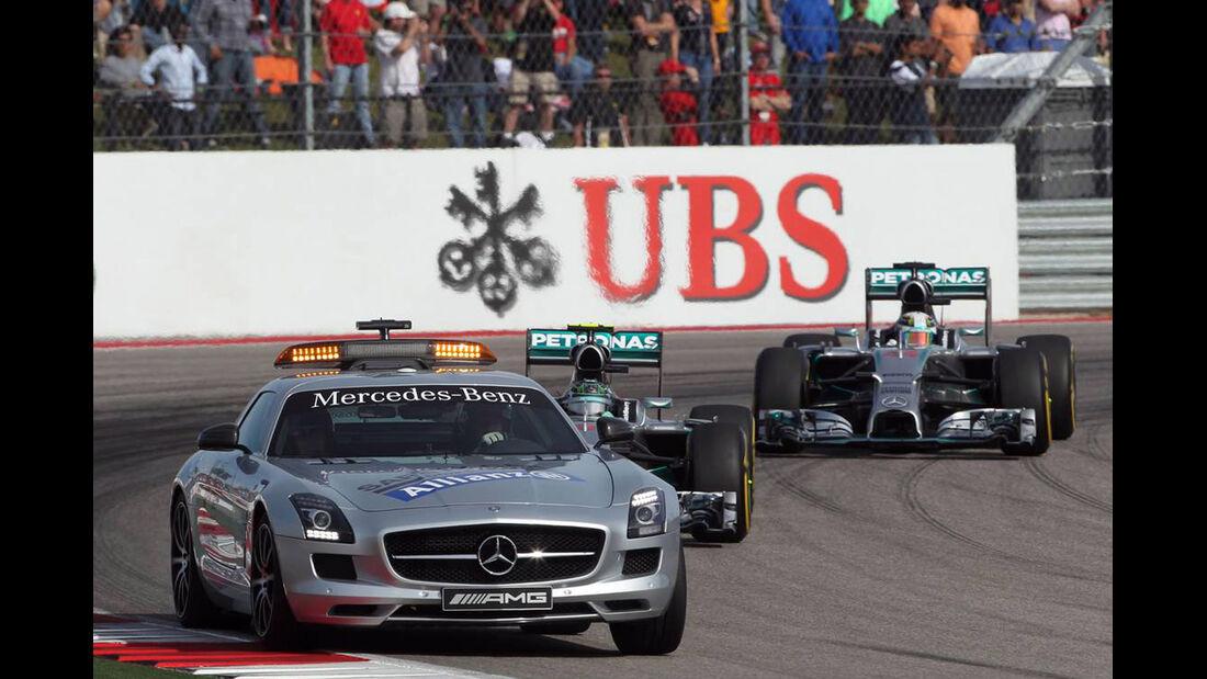 Safety Car - Formel 1 - GP USA - 2. November 2014