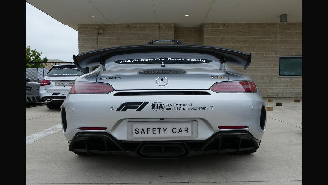 Safety-Car - Formel 1 - GP USA - Austin  - 17. Oktober 2018