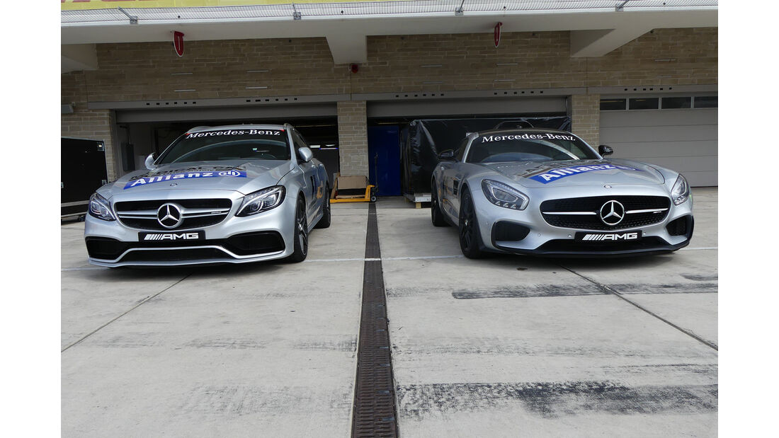 Safety-Car - Formel 1 - GP USA - Austin - 19. Oktober 2016