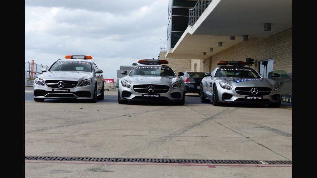 Safety-Car - Formel 1 - GP USA - Austin - 21. Oktober 2015