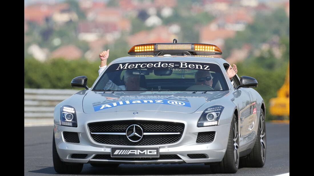 Safety-Car - Formel 1 - GP Ungarn - 26. Juli 2013