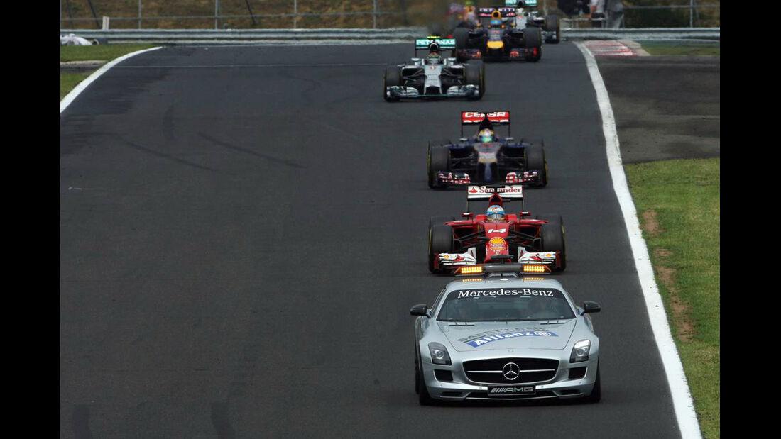 Safety Car - Formel 1 - GP Ungarn - 27. Juli 2014