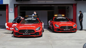 Safety-Car - Formel 1 - Imola - GP Emilia-Romagna - 15. April 2021
