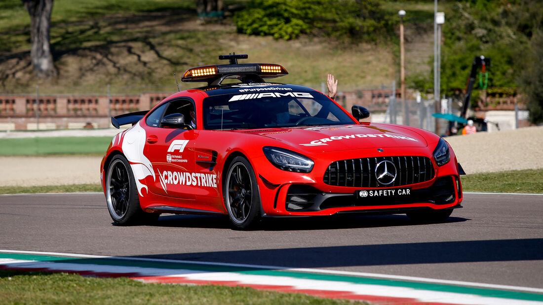 Safety-Car - Formel 1 - Imola - GP Emilia-Romagna - 16. April 2021