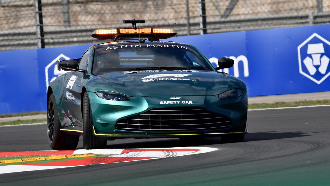 Safety-Car - Formel 1 - Istanbul - GP Türkei - 7. Oktober 2021