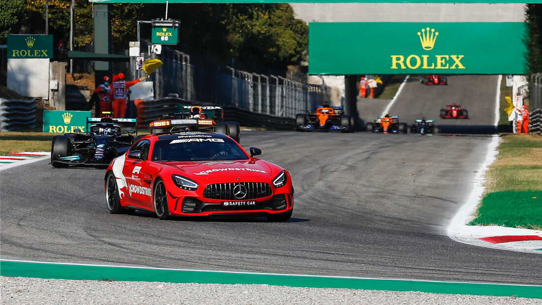 Safety-Car - Formel 1 - Monza - GP Italien - 11. September 2021
