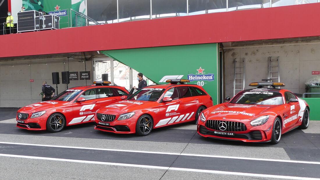 Safety-Car - Formel 1 - Portimao - GP Portugal - 29. April 2021