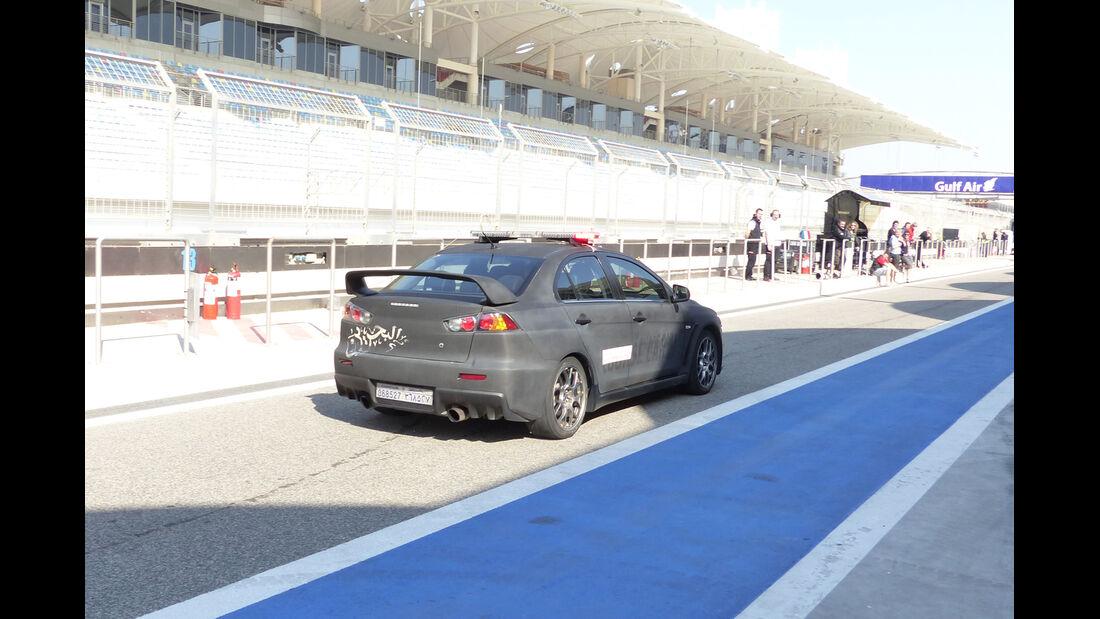 Safety-Car - Formel 1 - Test - Bahrain - 19. Februar 2014