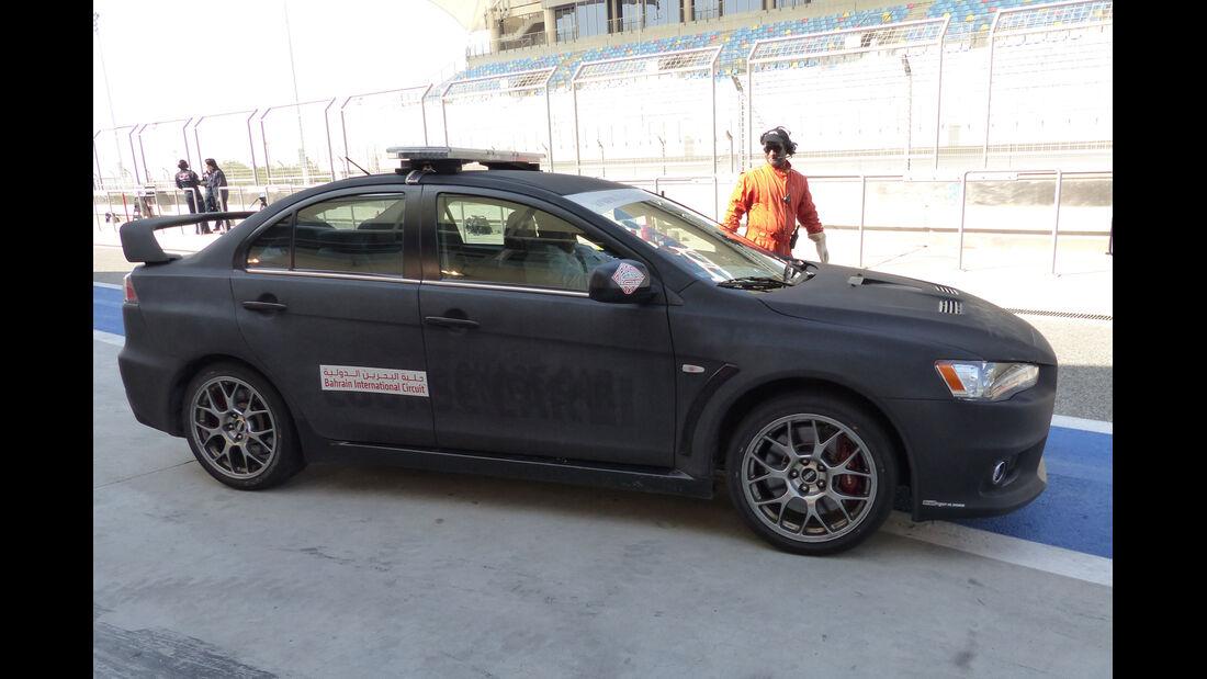 Safety-Car - Formel 1 - Test - Bahrain - 20. Februar 2014