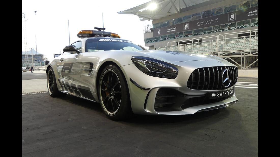 Safety-Car - GP Abu Dhabi - Formel 1 - 22. November 2018