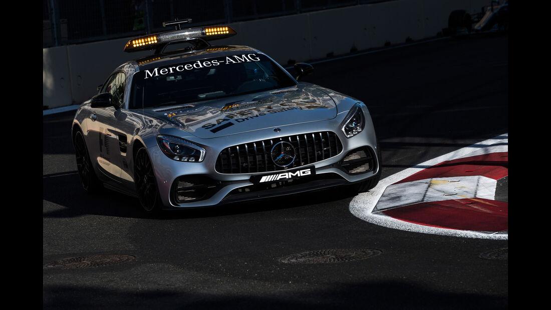 Safety Car - GP Aserbaidschan 2017 - Baku - Rennen