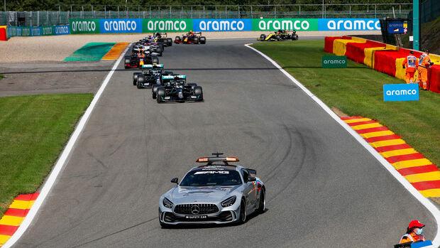 Safety-Car - GP Belgien 2020
