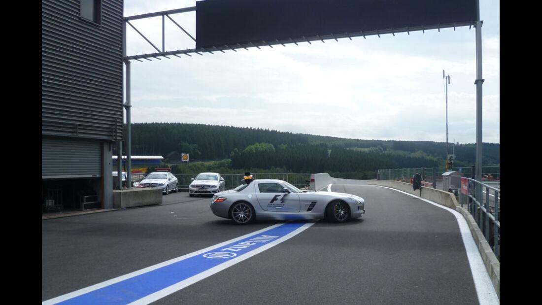 Safety-Car - GP Belgien - 25. August 2012