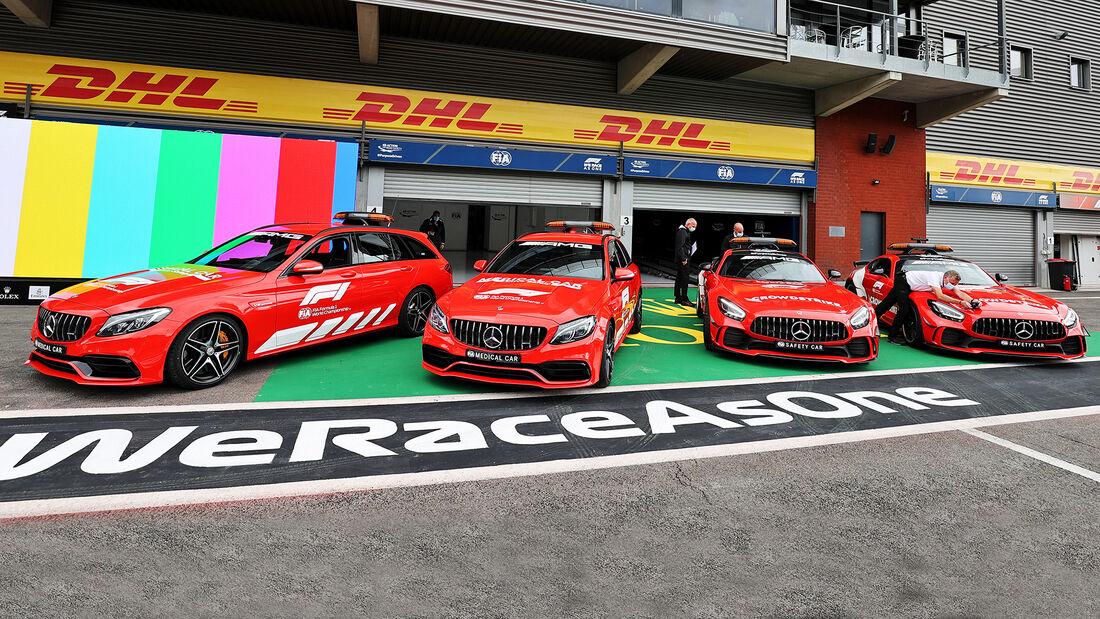 Safety-Car - GP Belgien - Spa-Francorchamps - 26. August 2021