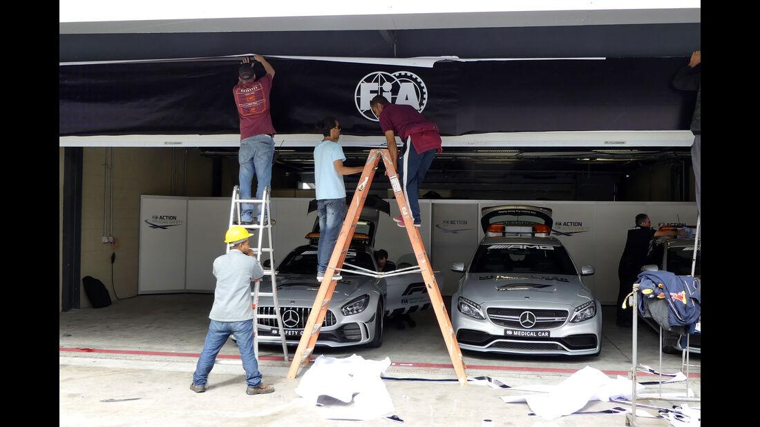 Safety Car - GP Brasilien - Interlagos - Formel 1 - Mittwoch - 7.11.2018