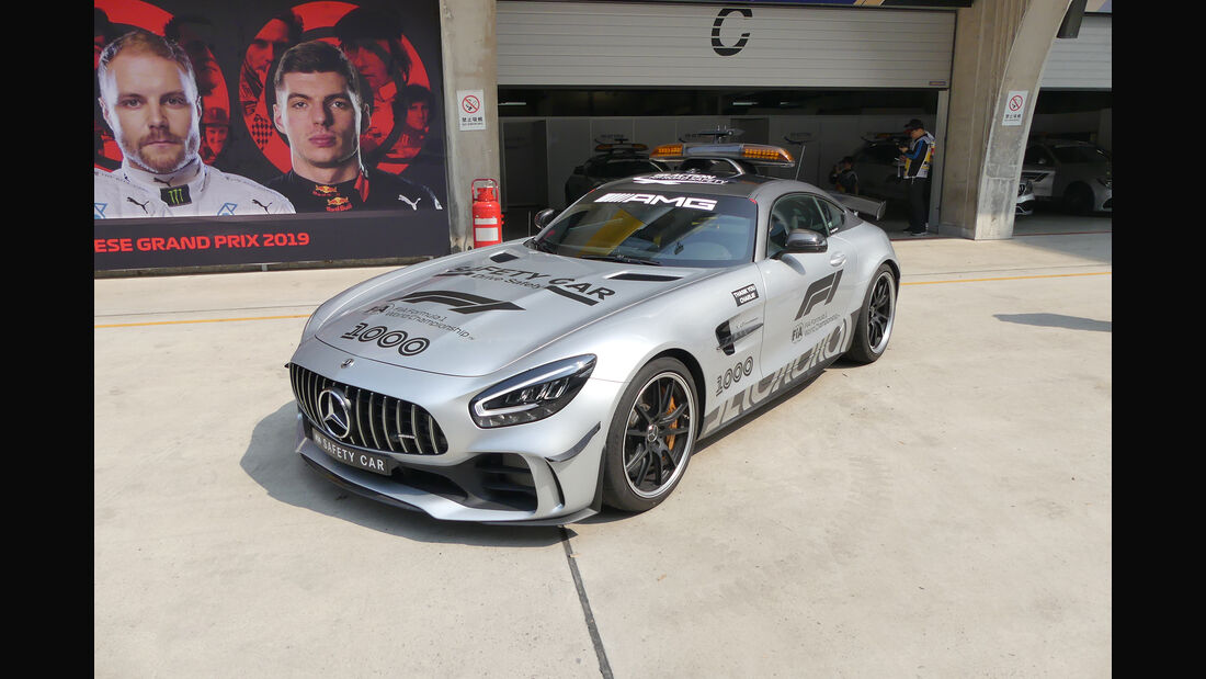 Safety Car - GP China - Shanghai - Formel 1 - Freitag - 12.4.2019