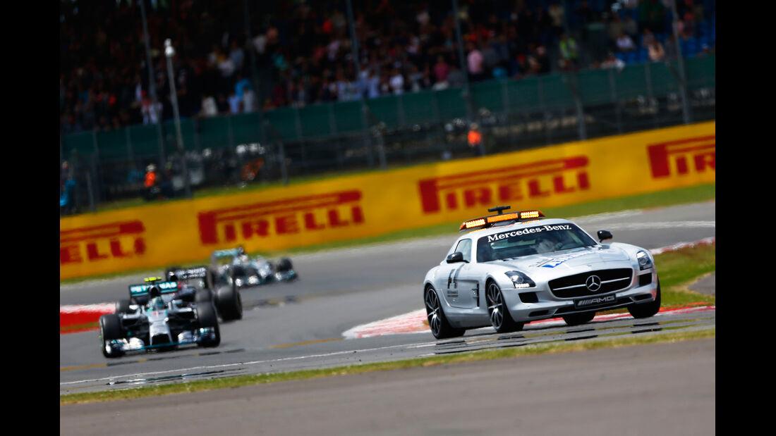 Safety-Car - GP England 2014