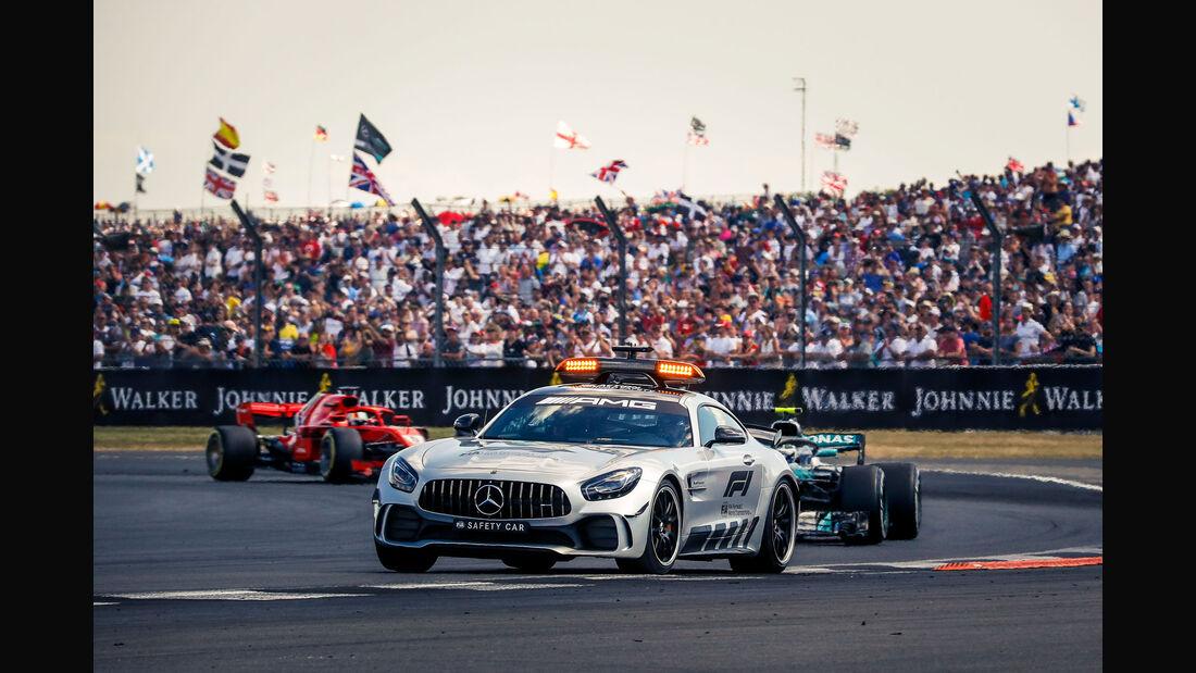 Safety Car - GP England 2018 - Silverstone - Rennen