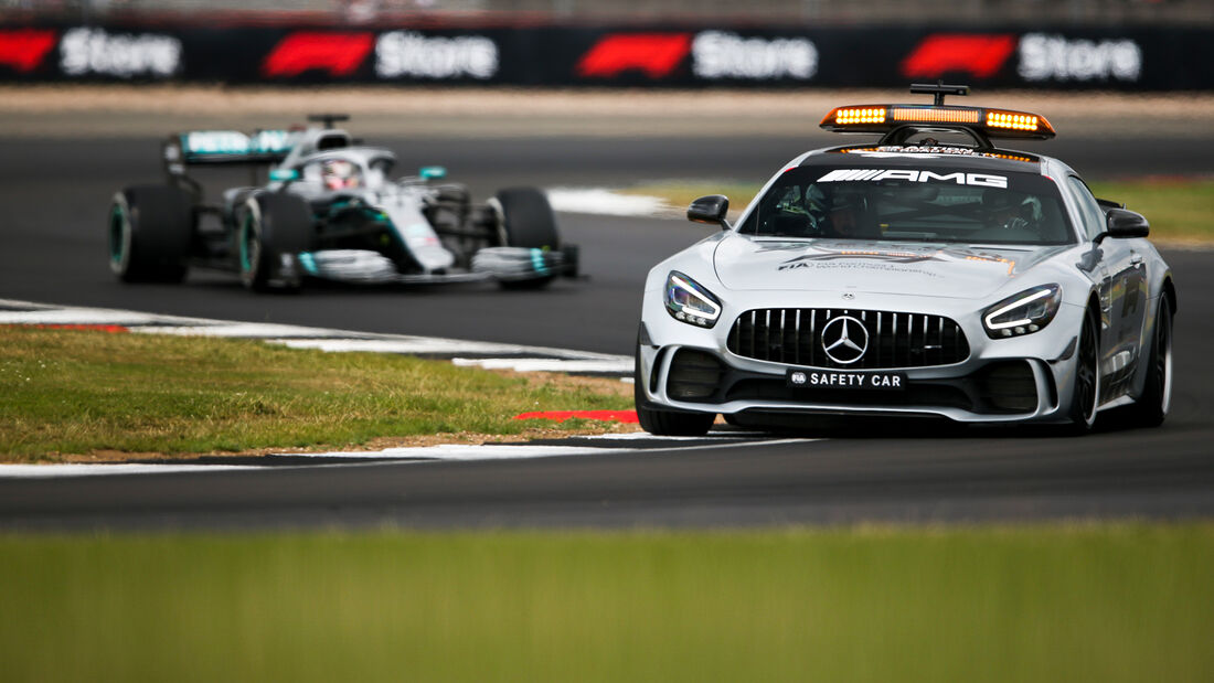 Safety-Car - GP England 2019