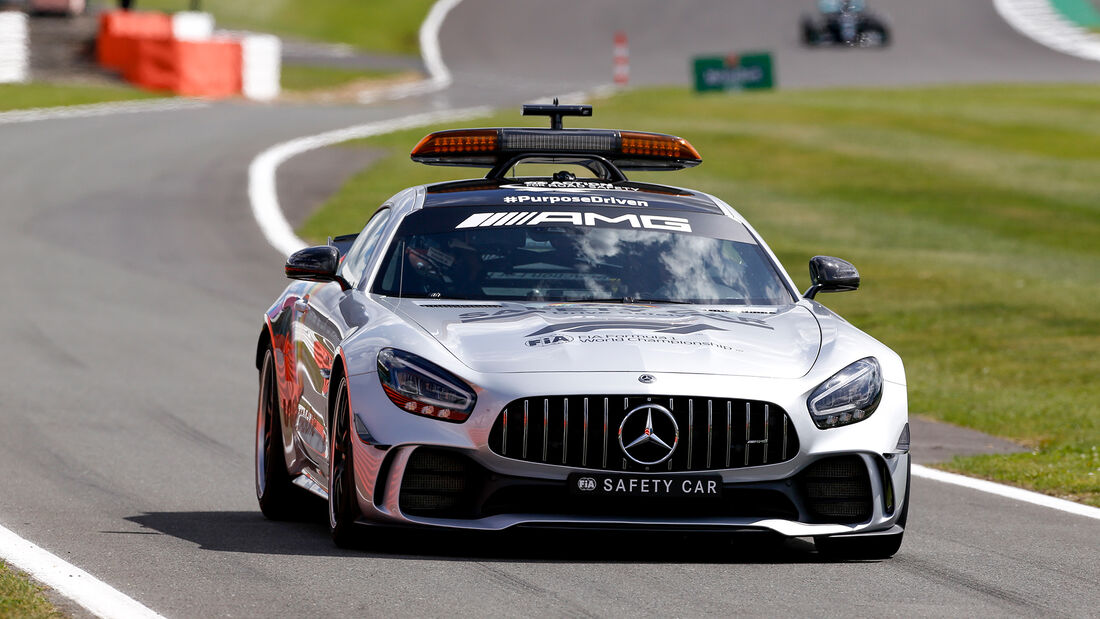 Safety-Car - GP England 2020
