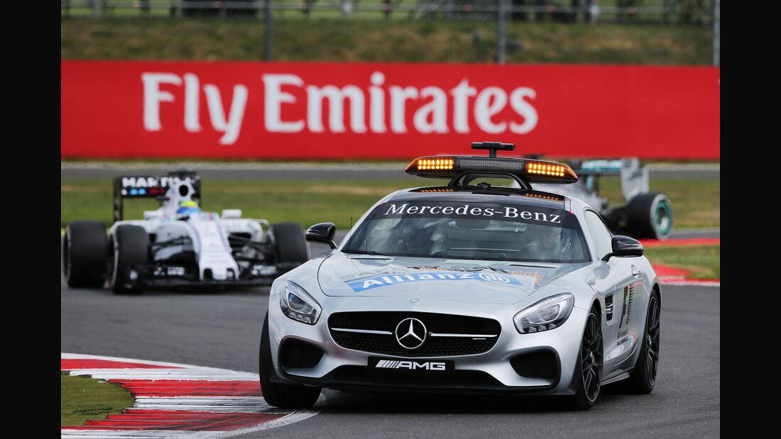 Safety Car - GP England - Silverstone - Rennen - Sonntag - 5.7.2015