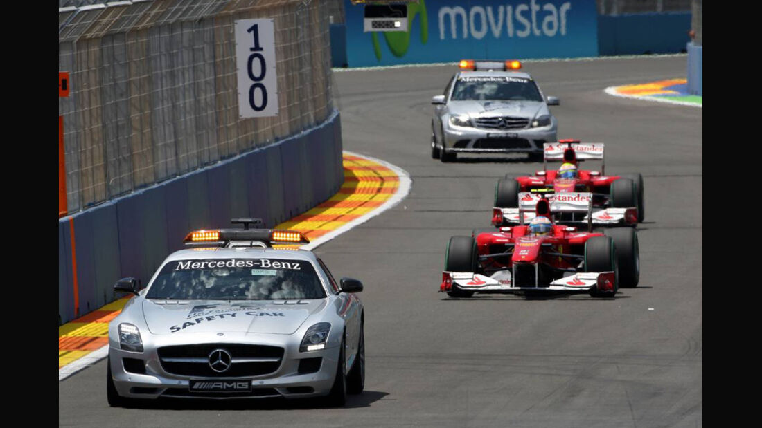 Safety Car GP Europa