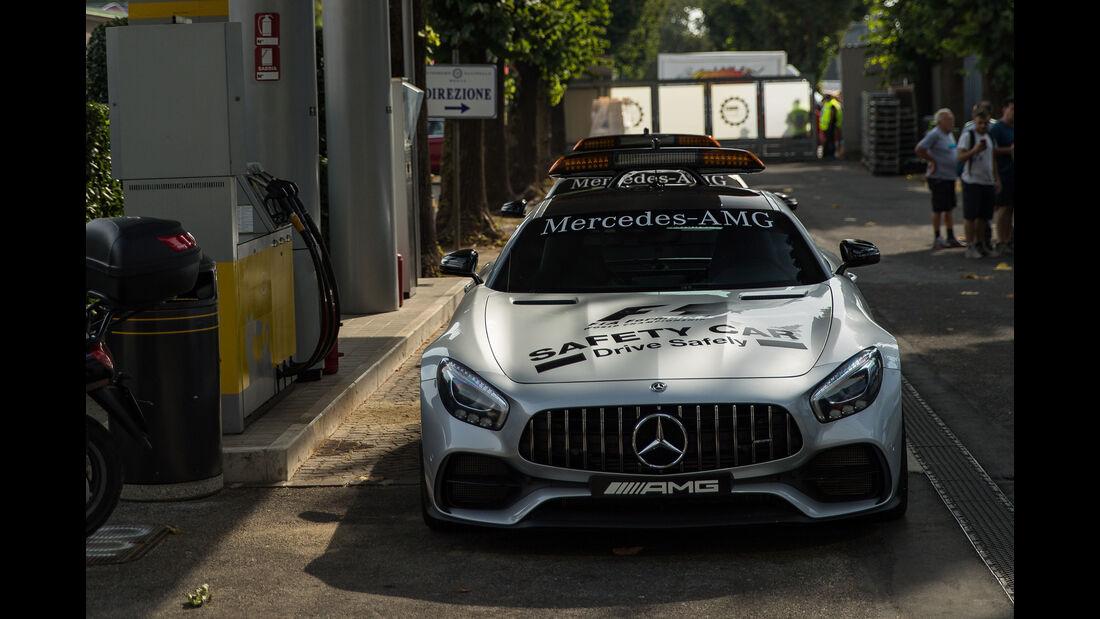 Safety-Car - GP Italien - Monza - Formel 1 - 31. August 2017