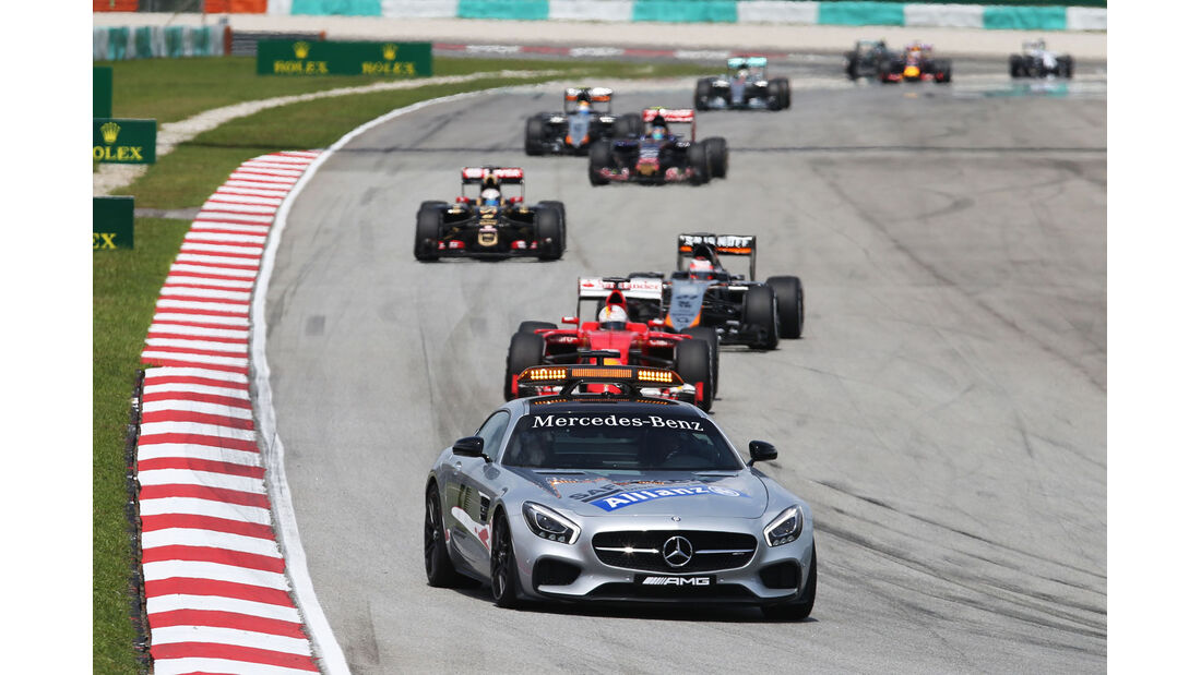 Safety Car - GP Malaysia 2015 - Formel 1