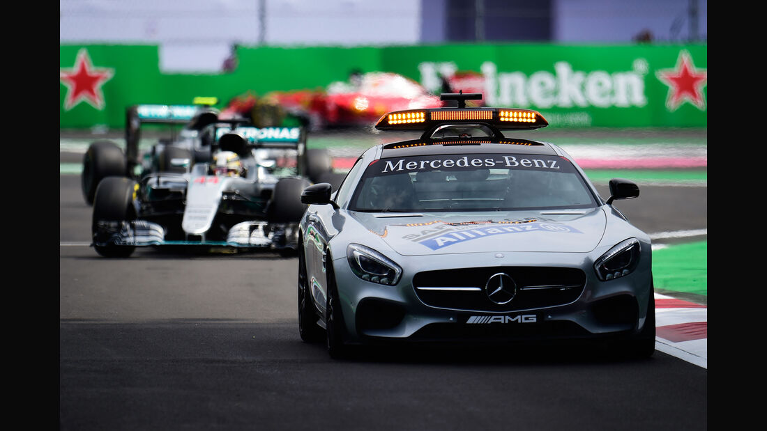 Safety-Car - GP Mexiko 2016