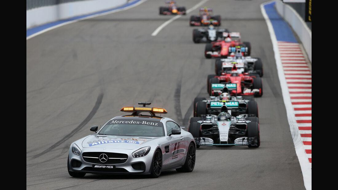 Safety Car - GP Russland 2015 - Sochi - Rennen