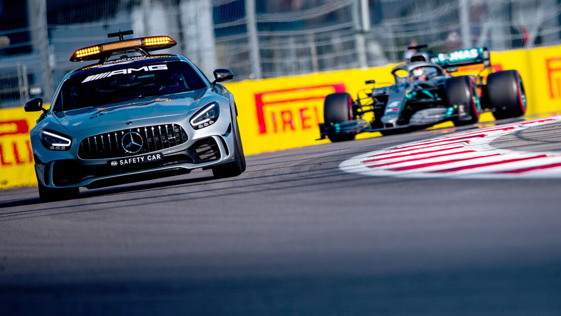 Safety-Car - GP Russland 2019