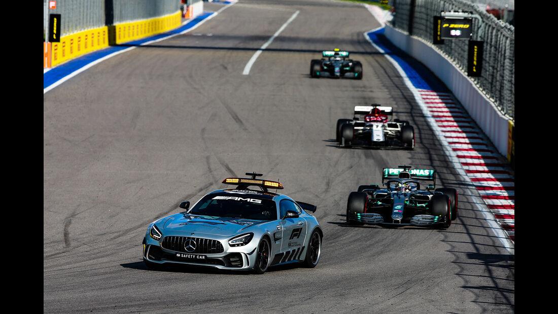 Safety Car - GP Russland 2019 - Sochi Autodrom - Rennen