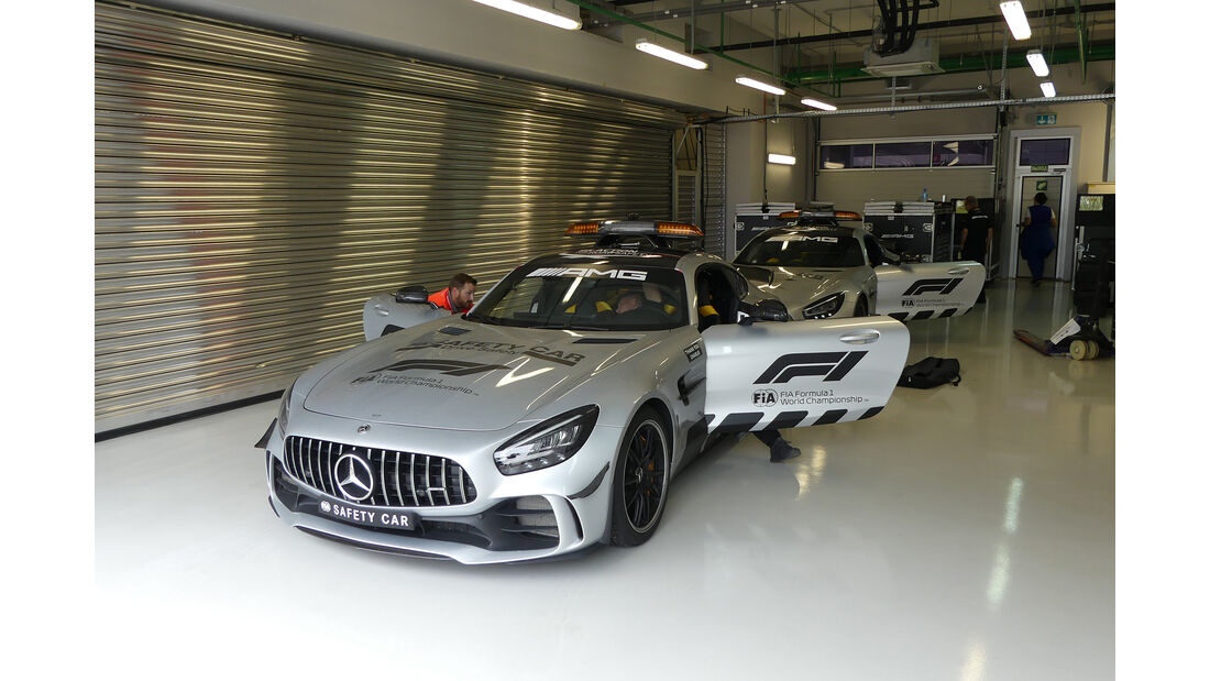 Safety Car - GP Russland - Sochi Autodrom - Mittwoch - 25.9.2019